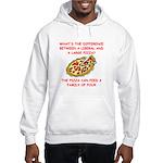 liberal joke Hooded Sweatshirt