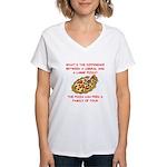 liberal joke Women's V-Neck T-Shirt