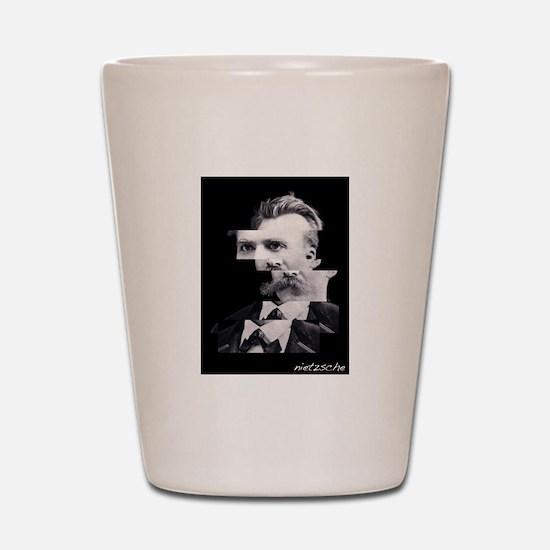 Nietzsche Shot Glass