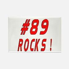 89 Rocks ! Rectangle Magnet