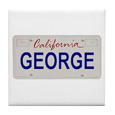 California George Tile Coaster