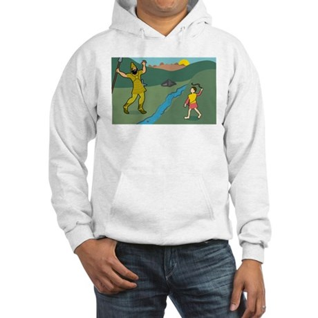 David and Goliath Hooded Sweatshirt