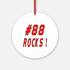 88 Rocks ! Ornament (Round)