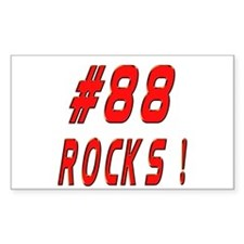 88 Rocks ! Rectangle Decal
