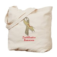 Zombification Awareness Tote Bag