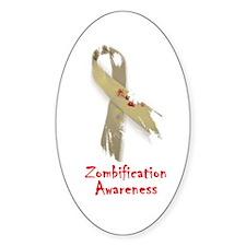 Zombification Awareness Decal
