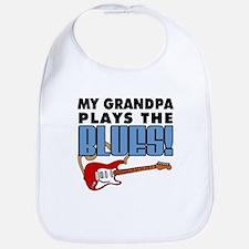 My Grandpa Plays The Blues Bib