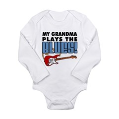My Grandma Plays The Blues Long Sleeve Infant Body