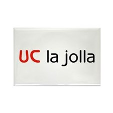 UC La Jolla Rectangle Magnet