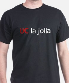 UC La Jolla Black T-Shirt