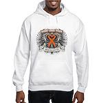 Hope Love Cure Leukemia Hooded Sweatshirt