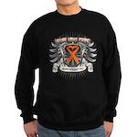 Hope Love Cure Leukemia Sweatshirt (dark)