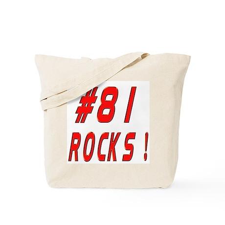 81 Rocks ! Tote Bag