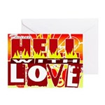 From hell Greeting Card