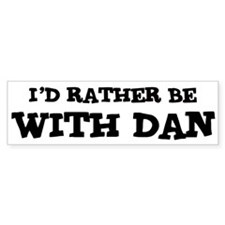 With Dan Bumper Bumper Sticker