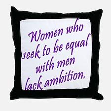 Women Who Seek... Throw Pillow