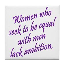 Women Who Seek... Tile Coaster