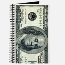 Journal One Hundred Dollar Bill