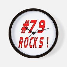 79 Rocks ! Wall Clock