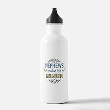 Nephew Sentiments Water Bottle