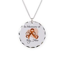 In Memory Hero Leukemia Necklace