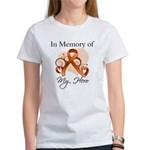 In Memory Hero Leukemia Women's T-Shirt
