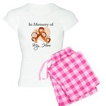 In Memory Hero Leukemia Women's Light Pajamas
