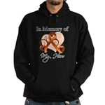 In Memory Hero Leukemia Hoodie (dark)
