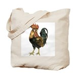 Rooster Chicken Tote Bag
