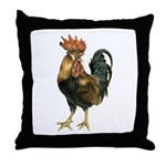 Rooster Chicken Throw Pillow