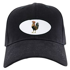 Rooster Chicken Baseball Hat