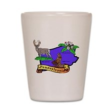 Pennsylvania Shot Glass