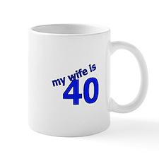 My Wife Is 40 Mug