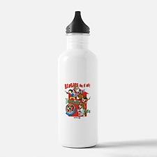 Beagles Do It All Water Bottle