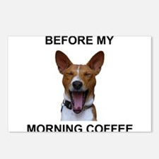 Coffee Yawn Postcards (Package of 8)