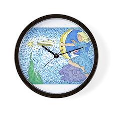 Cute White rabbit Wall Clock