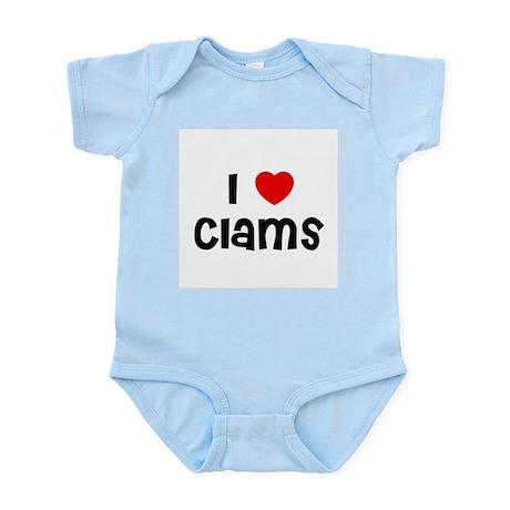 I * Clams Infant Creeper