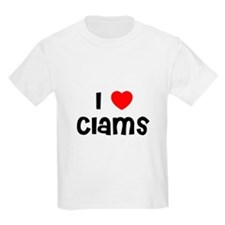 I * Clams Kids T-Shirt