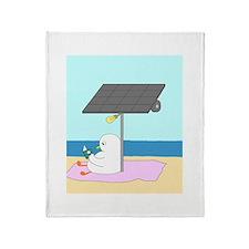 Solar Lamp Throw Blanket