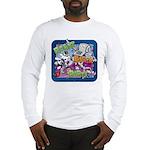 Robot Block Party Long Sleeve T-Shirt