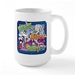 Robot Block Party Large Mug