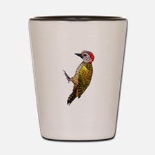 Little Woodpecker Shot Glass