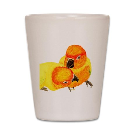 Sun Conure Shot Glass