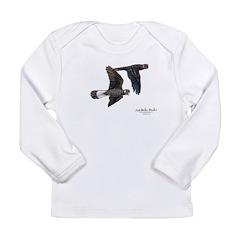 Short-billed Black Cockatoos Long Sleeve Infant T-