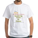 Speaking Truth to Power Men's White T-Shirt