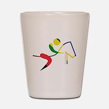 Equestrian Horse Olympic Shot Glass