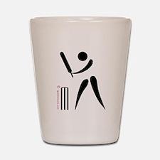 Cricket Black Shot Glass