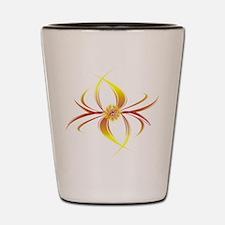 Cosmic Flower Shot Glass