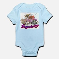Cute Daddies hot rod Infant Bodysuit