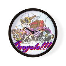 Cute Steampunk car Wall Clock
